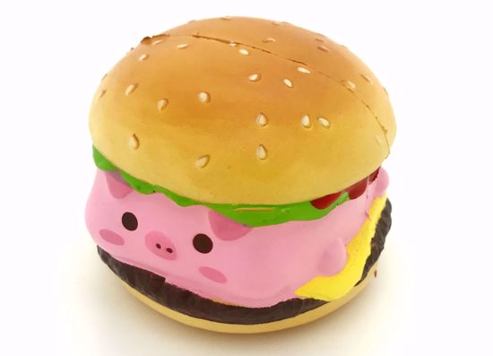 Buy Puni Maru x Creamiicandy Super Soft and Slow Rising Scented Marshmellii Burger Squishy - Boy
