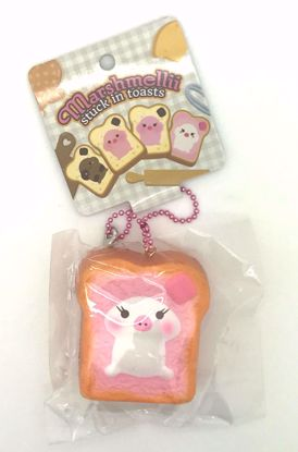 Buy Creamiicandy Super Soft and Slow Rising Scented Marshmellii Stuck in Toasts Squishy - Pink Girl