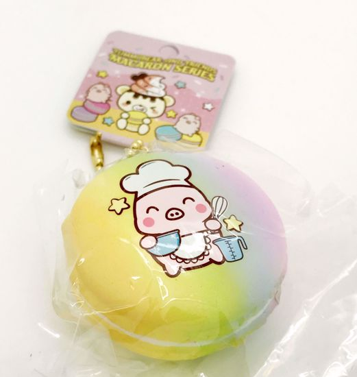 Buy Creamii Candy Super Soft and Slow Rising Scented Yummiibear and Friends Macaron Series - Chef Marshmellii A