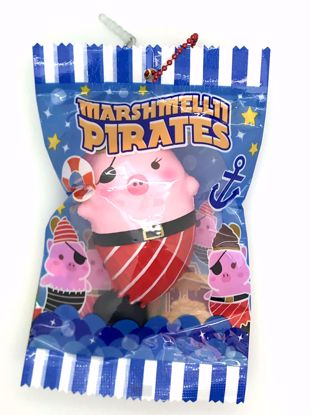 Buy Puni Maru x Creamiicandy Super Soft and Slow Rising Scented Marshmellii Pirate Squishy - A