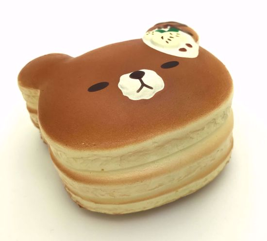 Buy Puni Maru Super Soft and Slow Rising Scented Mini Bear Pancake Squishy - Banana
