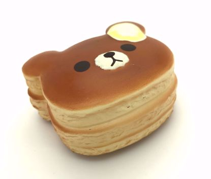 Buy Puni Maru Super Soft and Slow Rising Scented Mini Bear Pancake Squishy - Butter