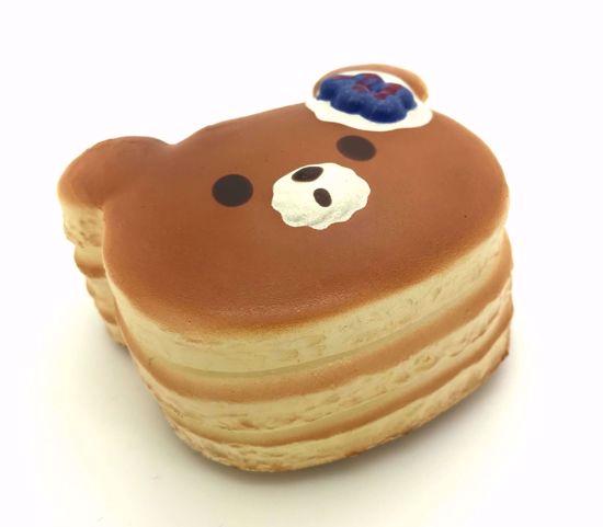Buy Puni Maru Super Soft and Slow Rising Scented Mini Bear Pancake Squishy - Blueberry