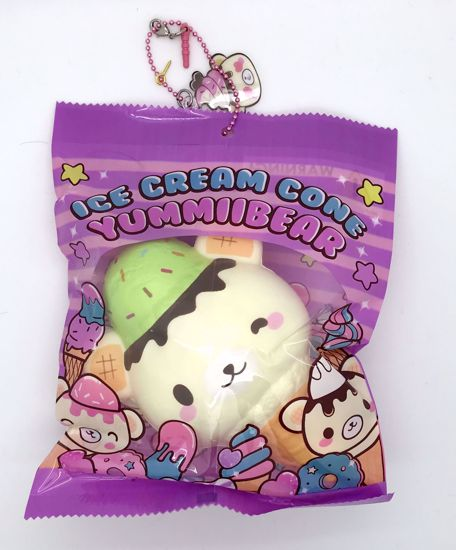 Buy Puni Maru x Creamiicandy Super Soft and Slow Rising Scented Yummiibear Ice Cream Cone Squishy - A
