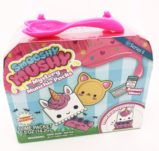 Buy Smooshy Mushy Mystery Munchie Packs - Series 6 - Blind Bag Lucky Dip - EITHER Udelle's Yummilicious Cake OR Kaley's Smores Surprise
