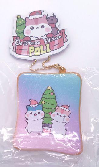 Buy Popular Christmas Edition Poli Toast Squishy - Pastel