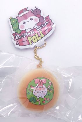 Buy Popular Christmas Edition Poli Bun Squishy - Baked