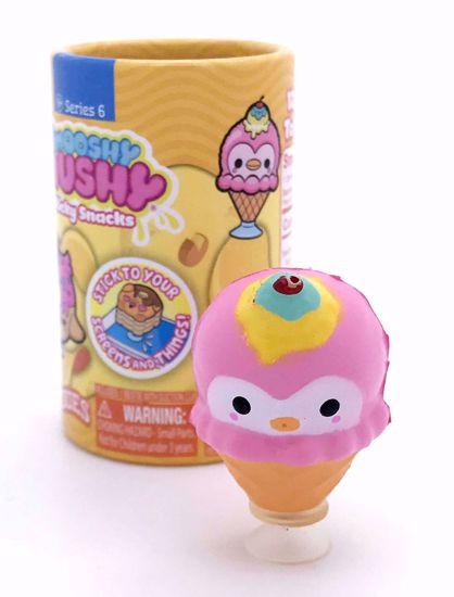 Buy RARE US / Canada Exclusive Smooshy Mushy Series 6 Sticky Snacks * OPENED * Snackies Ice Cream Cone